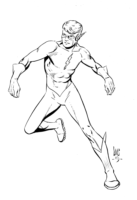 Kid Flash Page 7 Paul Smith